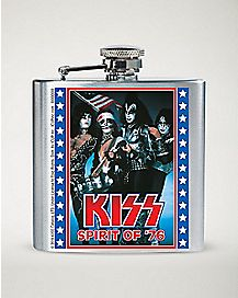 Kiss Flask 8 oz.
