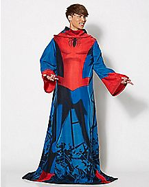 Being Spider-Man Fleece Blanket with Sleeves - Marvel Comics