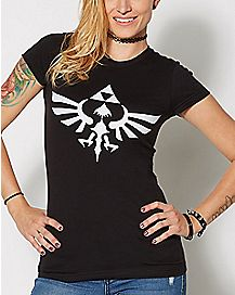 Triforce Symbol T Shirt - The Legend of Zelda