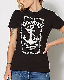 Anchor Logo T Shirt - The Goonies