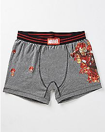 Iron Man Marvel Perform Boxers