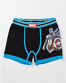Captain America Marvel Perform Boxers