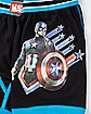 Captain America Perform Boxers - Marvel Comics