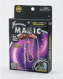 Ring Through String Magic Kit with DVD
