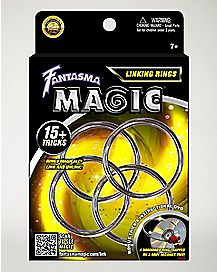 Linking Metal Rings Magic Kit with DVD