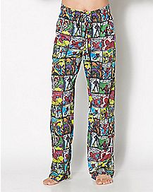 Spider-Man Grid Lounge Pants - Marvel Comics