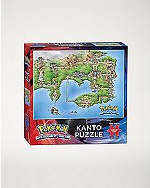 Kanto Puzzle - Pokemon
