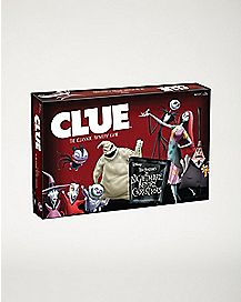 Clue: The Nightmare Before Christmas Clue Game