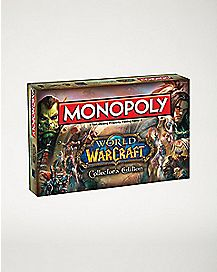 Collector's Edition World of Warcraft Monopoly Board Game