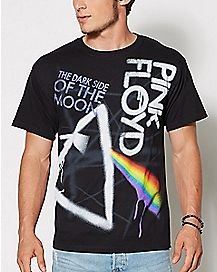 Pink Floyd Dark Side of the Moon Graffiti T Shirt