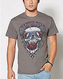 Grateful Dead Skull T Shirt