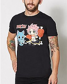Happy Eating Fairy Tail T Shirt