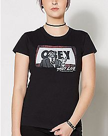 They Live Obey T Shirt