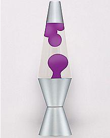 Purple Lava Lamp - 14.5 Inch