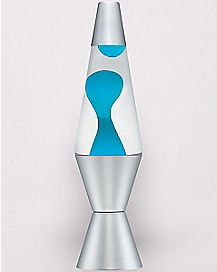 Teal Lava Lamp - 14.5 Inch
