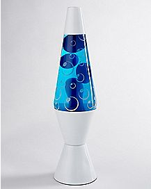 Frosted Bubble Lava Lamp - 14.5 Inch