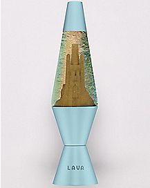 Sand Castle Lava Lamp - 14.5 Inch