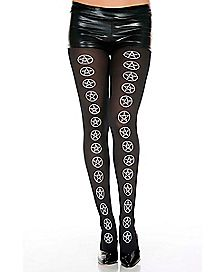 Center Pentagram Tights