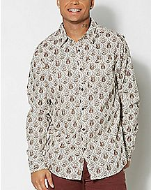Star Wars Button Down Shirt