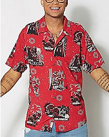 Aloha Darth Vader Button Down Shirt
