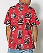Aloha Darth Vader Button Down Shirt