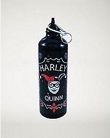 Aluminum Harley Quinn Water Bottle 25 oz. - DC Comics