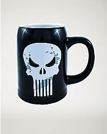 Punisher Marvel Mug - 22 oz.