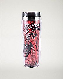 Harley Quinn Travel Mug 16 oz. - DC Comics