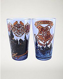 Hogwarts Harry Potter Pint Glasses - 16 oz.