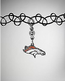 NFL Denver Broncos Tattoo Choker Necklace