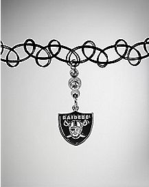 Oakland Raiders Choker Necklace