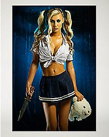 Killer School Girl Poster