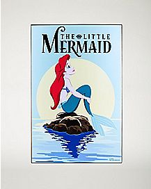 The Little Mermaid Wall Art