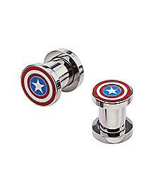 Captain America Ear Plugs - Marvel Comics