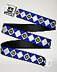 Blue Power Rangers Seatbelt Belt