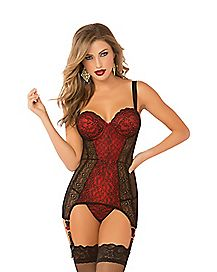 High Society Lace Chemise
