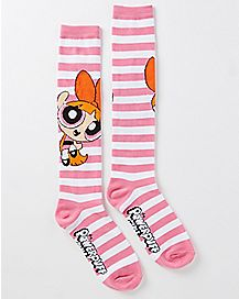 Blossom Powerpuff Girls Knee High Socks