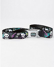 Joker Suicide Squad Seatbelt Belt