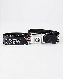 Straw Hat Crew One Piece Seatbelt Belt