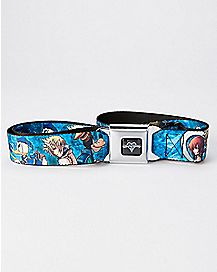 Kingdom Hearts Seatbelt Belt