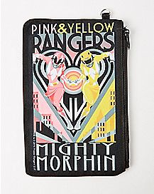 Mighty Morphin Power Rangers Zip Wallet