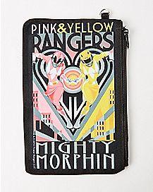 Mighty Morphin Power Rangers Zip Wallet