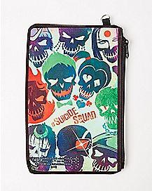 Skull Suicide Squad Zip Wallet