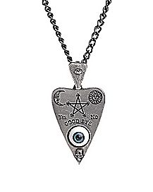 Spirit Board Eye Necklace