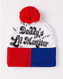 Suicide Squad Daddy's Lil Monster Beanie Hat