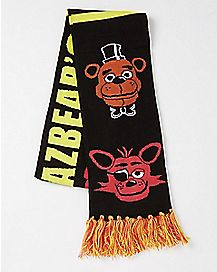 Freddy and Foxy Scarf - Five Nights at Freddy's