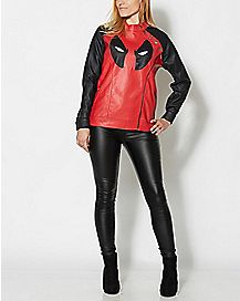 Deadpool Moto Jacket - Marvel Comics