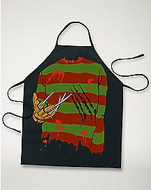 Freddy Krueger Nightmare on Elm Street Character Apron
