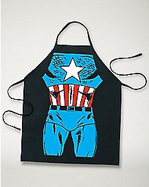 Captain America Marvel Character Apron