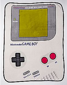 Game Boy Fleece Blanket - Nintendo